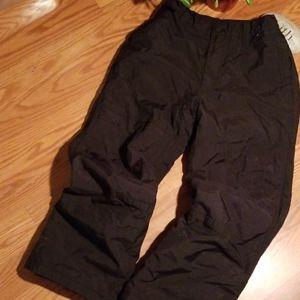 Black dot outerwear med snow pant